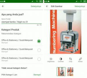 Cara Menjual Barang di Aplikasi Tokopedia Smartphone Android 8