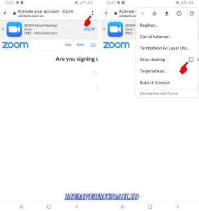 Cara Daftar Aplikasi Zoom Cloud Meeting di HP Android 5