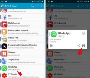 Cara Kirim Aplikasi Whatsapp ke HP Android Lain Lewat Bluetooth 2