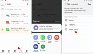Cara Kirim Aplikasi Whatsapp ke HP Android Lain Lewat Bluetooth 4