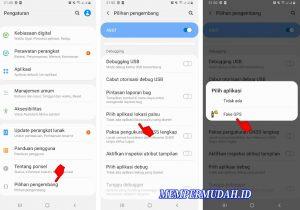 Cara Membuat Lokasi Palsu Google Maps di HP Android Samsung 4