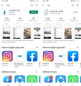 Cara TontonPutar Ulang Video di Aplikasi Facebook Lite Android 2