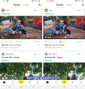 Trik Bagikan Video CocoFun Tanpa Watermark ke Whatsapp, Facebook, Instagram 2