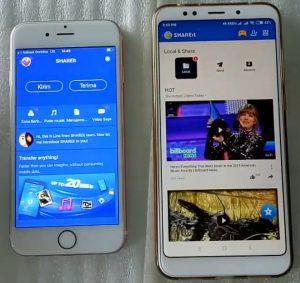 Cara Kirim File Video, Lagu, Foto Dari HP Android ke iPhone 2