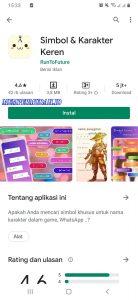 Cara Membuat Nickname Akun Game Unik di Smartphone Android 1