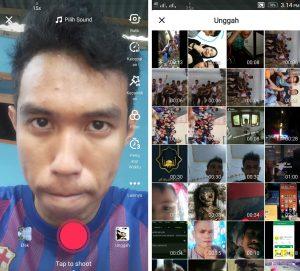 Cara Membuat Video di Aplikasi Tik Tok Versi Lite HP Android 5