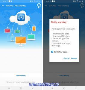 Cara Menggunakan AirDrop di Smartphone Android 2