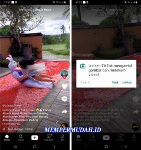 Cara Menghilangkan Suara Asli Video Tik Tok di HP Android 2