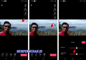 Cara Menghilangkan Suara Asli Video Tik Tok di HP Android 5