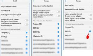 Cara Menyembunyikan Kontak Telepon di Smartphone Android 33
