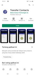 Cara Transfer Semua Kontak Antar HP Android via Bluetooth 1