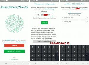 Cara Agar Tulisan Whatsapp di Menu Beranda Aplikasi Bisa di Klik 2