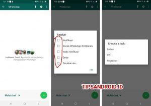 Cara Agar Tulisan Whatsapp di Menu Beranda Aplikasi Bisa di Klik 6