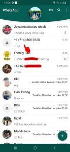 Cara Blokir Nomor Whatsapp Luar Negeri (Negara Lain) di Android 1
