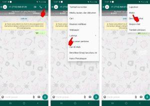 Cara Blokir Nomor Whatsapp Luar Negeri (Negara Lain) di Android 2