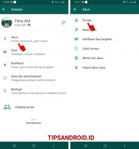 Cara Blokir Nomor Whatsapp Luar Negeri (Negara Lain) di Android 22