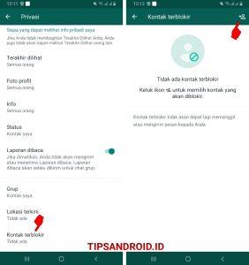 Cara Blokir Nomor Whatsapp Luar Negeri (Negara Lain) di Android 33