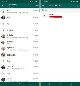 Cara Blokir Nomor Whatsapp Luar Negeri (Negara Lain) di Android 44