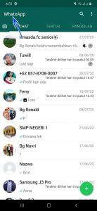 Cara Kunci & Sembunyikan Grup Whatsapp di HP Android 6
