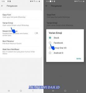 Cara Menggunakan Emoji Facebook di Aplikasi Whatsapp Android 6