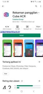 Cara Merekam Panggilan Suara FB Messenger HP Android 1