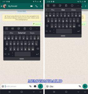 Cara Ubah Tampilan Keyboard Android di Tengah atau Atas Layar 6