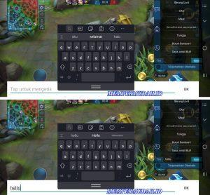 Cara Memperkecil Tampilan Keyboard di Mobile Legends Android 5