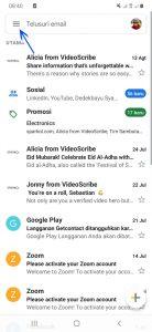Cara Mengetahui Email Sudah Terkirim Atau Belum di HP Android 2