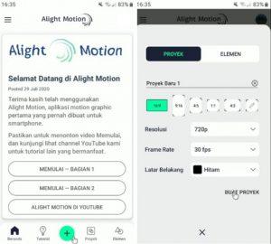 Cara Menambahkan Lagu di Aplikasi Alight Motion HP Android 2
