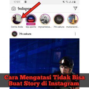 Cara Mengatasi Tidak Bisa Buat Story di Instagram HP Android