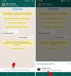 Cara Kirim Pesan Grup WhatsApp Yang Telah di Blokir 3
