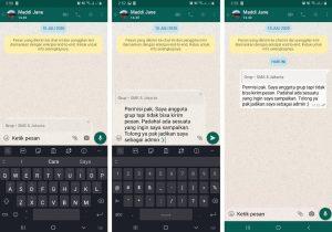 Cara Kirim Pesan Grup WhatsApp Yang Telah di Blokir 4