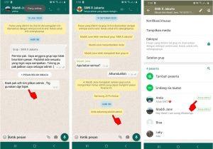 Cara Kirim Pesan Grup WhatsApp Yang Telah di Blokir 5