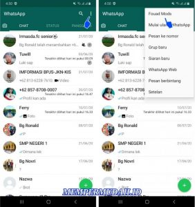 Cara Menghilangkan Tulisan Whatsapp From Facebook di Android 4