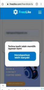 Trik Auto Followers, Like & Komentar di Tik Tok via HP Android 4