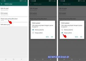 Trik Blokir Anggota Grup Whatsapp Agar Tidak Bisa Mengirim Pesan 5