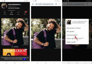 Cara LihatSimpan Foto Profil Akun Instagram Yang Sudah Lama 5