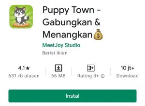 Cara Memainkan Game Puppy Town di Smartphone Android 1