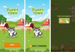 Cara Memainkan Game Puppy Town di Smartphone Android 3
