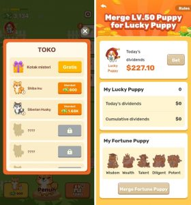 Cara Memainkan Game Puppy Town di Smartphone Android 5