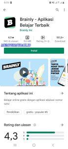 Cara Pakai Aplikasi Brainly di Smartphone Android 1