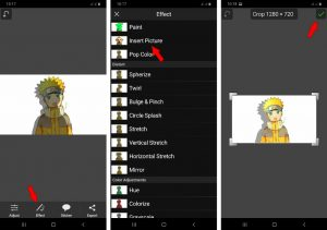 2 Cara Edit Bayangan Foto Pakai HP Android Terbaru 2021 5