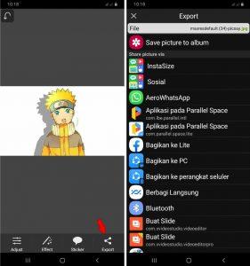 2 Cara Edit Bayangan Foto Pakai HP Android Terbaru 2021 6