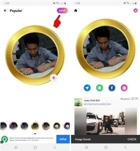 Cara Edit Foto Profil Whatsapp Unik di HP Android Terbaru 2021 5