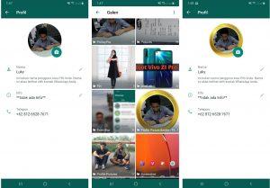 Cara Edit Foto Profil Whatsapp Unik di HP Android Terbaru 2021 6