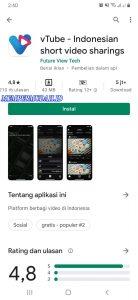 Cara Memakai Aplikasi vTube di Smartphone Android 4