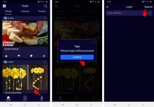 Cara Memakai Aplikasi vTube di Smartphone Android 6