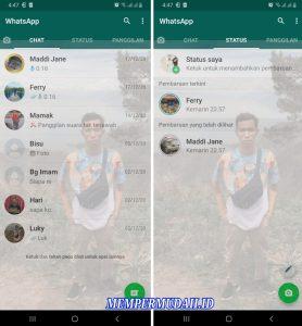 Cara Membuat Whatsapp Official TransparantTembus Pandang 5