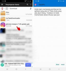 Cara Sembunyikan Sedang Mengetik di DM Instagram HP Android 2