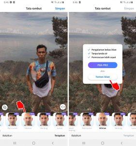 Aplikasi Edit Foto Kepala Botak di HP Android Terbaik 5